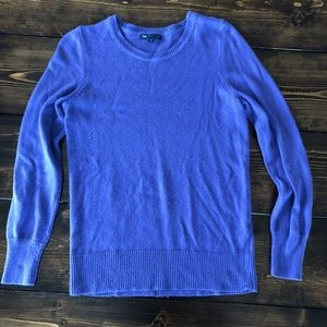 GAP Purple Sweater with Button Detail, Women's S